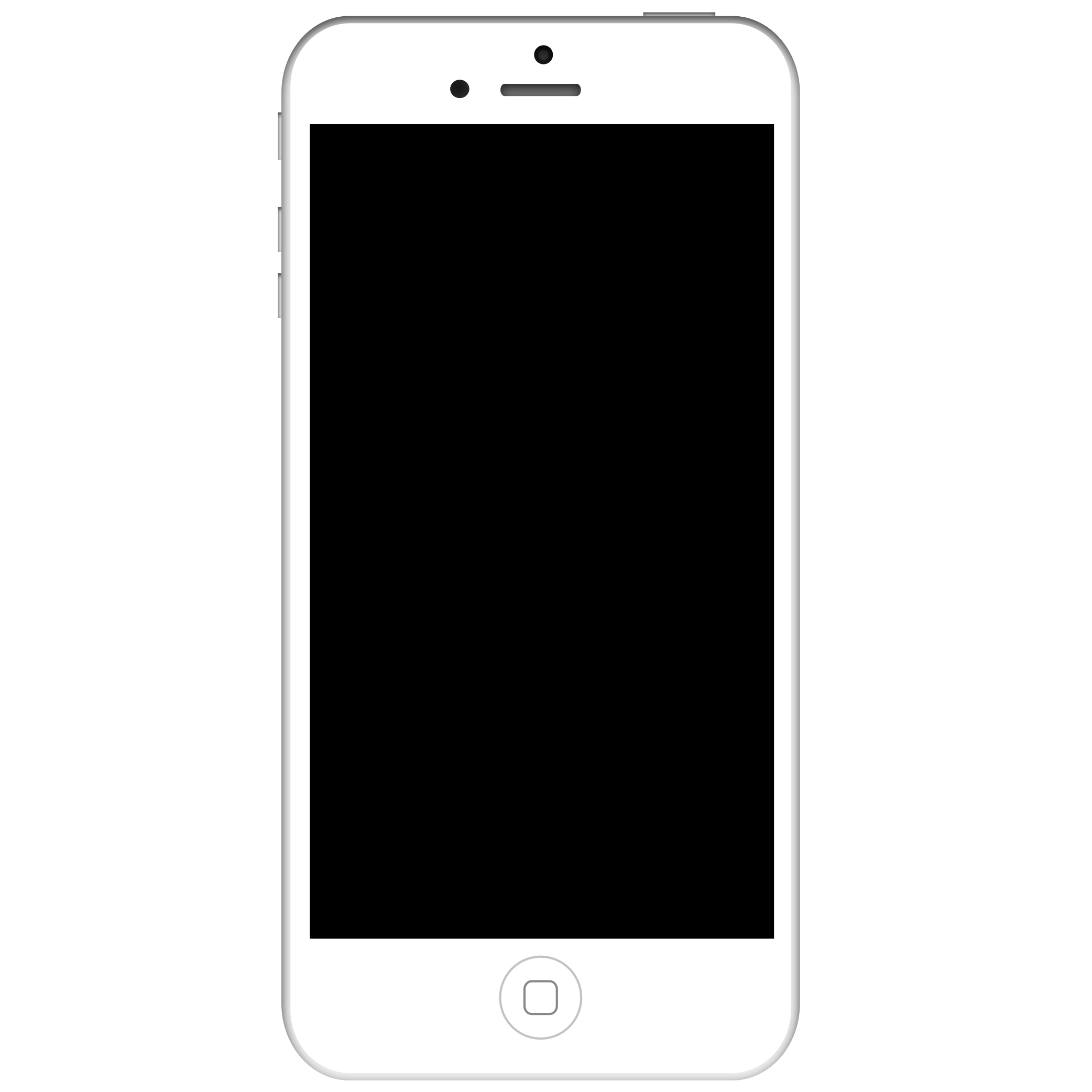Black Iphone 5 Png